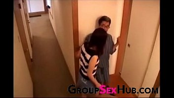 quirky japanese sons with wife British steph watching