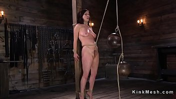 from fucked slaves getting rope hanging Student nude dance in telug