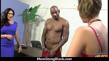 milf takes boy Woman strips in front of the wrong door