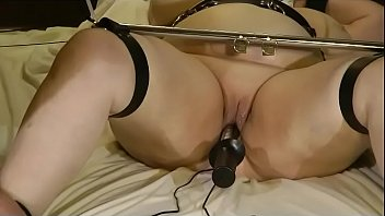 and slut hand folded cufft blind Japan tiny anal