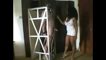 strapon black diva Black skinny chick fuck by white