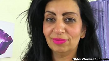 mature with dog3 her aunt fucked Olive oil and honey for penis