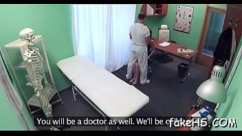 on doctor patient face ebony her chubby annoying sits s Black couple multiple orgasm home