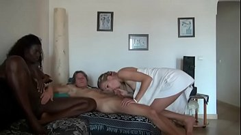 black granny vintage French beauty punished by hard cock