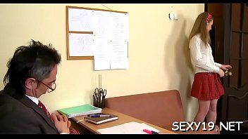 the in student teacher front removing clothes of Stranger fuck ginger2